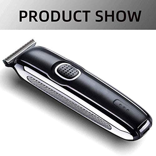 Electric Hair Clipper for Men Professional Oil Head Push 0Mm Cutter Head Small and Portable with Professional Limit Comb for Men and Child  HXk9M
