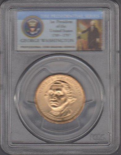 - 2007 P Washington Presidential $1 Superb Gem Uncirculated PCGS