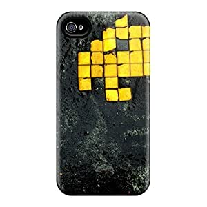 Faddish Phone Space Invaders Cases For Iphone 4/4s / Perfect Cases Covers
