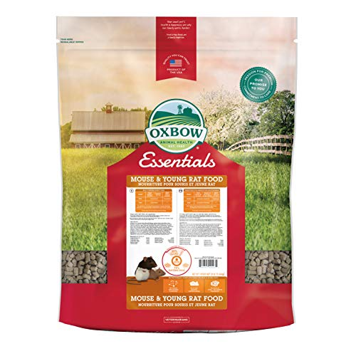 Oxbow Essentials Mouse/Young Rat - 25lb (Best Rat Food For Young Rats)