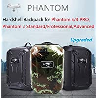 Hobby Signal Hardshell Backpack Waterproof Shoulder Bag Carrying Case for DJI Phantom 4/ 4 PRO/ 3 Standard/ Professional/ Advanced