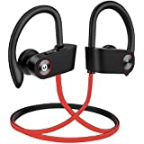 Humbgo Bluetooth Headphones Wireless Earbuds Waterproof IPX7, Wireless Earphones Sport Headset with Mic, 8 Hrs Playback Earphones for Gym Running