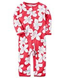 Carter's Baby Girls' Floral Footless Coverall 3 Months