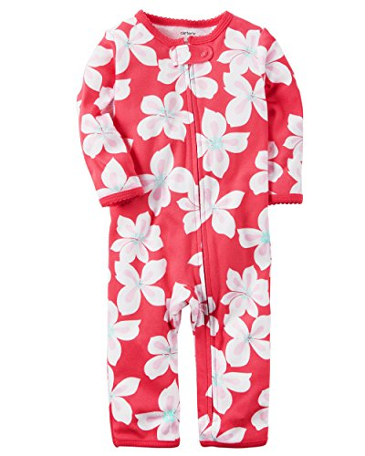 Carter's Baby Girls' Floral Footless Coverall 3 Months by Carter's