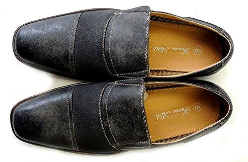 Nouveau Ferro Aldo Mode Mens Doublé De Cuir Robe Chaussures Mocassins Slip 19279 / Gris