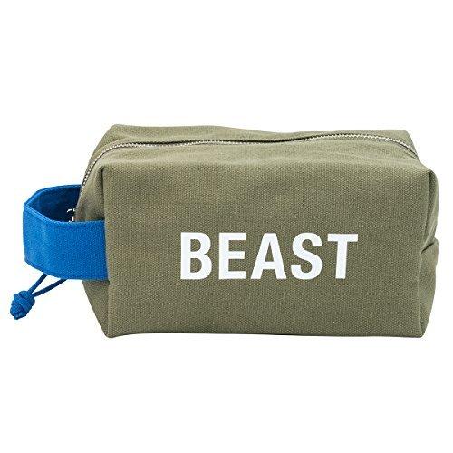 Beast Travel Cotton Canvas Rugged Dopp Kit Bag Christmas Gift Ideas For Mom Pinterest
