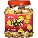 Club Supreme Premium Snacks - Salted Crispy Crackers - Mini Crackers Salted 200G