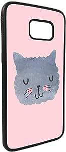 happy cat Printed Case forGalaxy S7 Edge