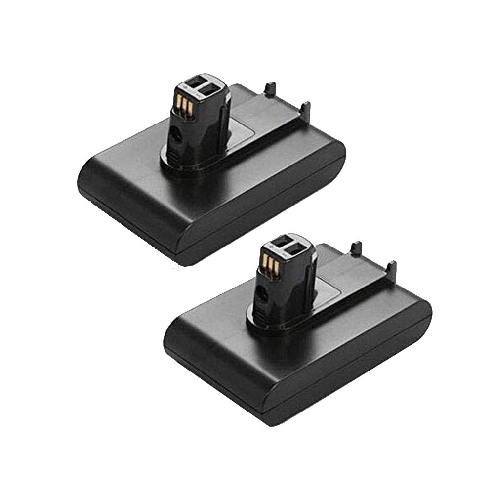 FUZADEL 2 Pack Replacement Dyson DC31 Battery 22.2V 2200mAh Lithium-Ion Rechargeble Battery for Dyson DC34 Hand-held Cordless Vacuum DC44 DC31 DC34 DC35 (Type i,Not DC44 MK2)