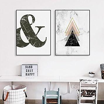 Citation murale chambre tableaux décoration peinture sur toile affiche noir et blanc motivation poster deco salon