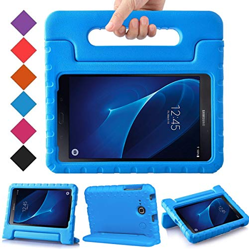 BMOUO Kids Case for Samsung Galaxy Tab A 7.0 - EVA ShockProof Case Light Weight Kids Case Super Protection Cover Handle Stand Case for Kids Children for Samsung Galaxy Tab A 7-inch Tablet - Blue (Tab Kids 3 Galaxy)