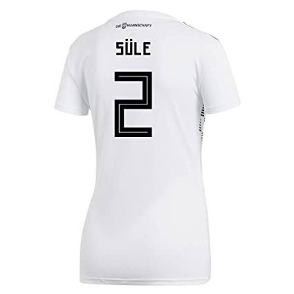 adidas SULE  2 Germany Home Women s Soccer Jersey World Cup Russia 2018 ... 5065d3a8d