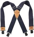 Dickies Men's Industrial Strength Suspenders,Navy,One Size
