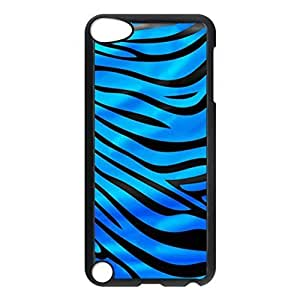 SUUER zebra skin Personalized Custom Plastic Hard CASE Back Fits Cover Case for iPod Touch 5, 5G (5th Generation)