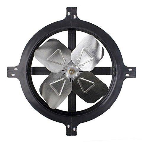 (Air Vent 53316 Gable Mount Power Attic Ventilator Fan 1620 CFM up to 2300 sq ft)
