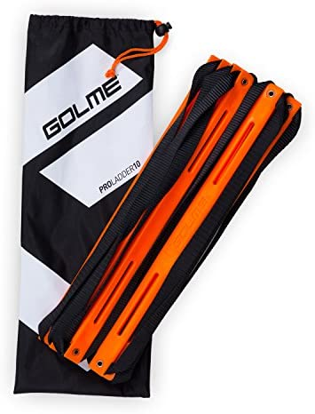 GOLME PRO Speed Agility Ladder with Training Drill Carry Bag