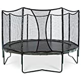 AlleyOOP PowerBounce Trampoline with Enclosure | Outstanding Bounce Performance | 50+ Patent & Safety Innovations | 12' and 14' Sizes Available