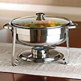 Brylanehome 4.6 Qt. Round Chafing Dish