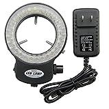 Bikani LED- 56 –BK Adjustable LED Ring Light for Stereo Microscope,with Power Adapter (Black)