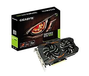 Gigabyte GeForce GTX 1050 2GB WINDFORCE Graphic Card - GV-N1050WF2OC-2GD
