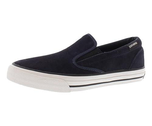 5655fcbe8c4c Converse Men s Skidgrip EV Slip-On Sneaker (Dark Navy