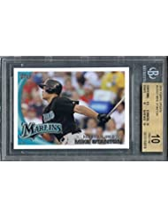 2010 topps update #us327 MIKE STANTON florida marlins rookie (PRISTINE) BGS 10 Graded Card