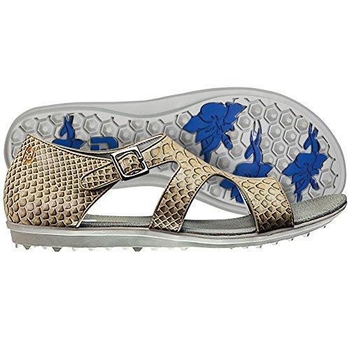 FootJoy Women's Shoes Naples Spikeless Golf Sandal 11 M Beige
