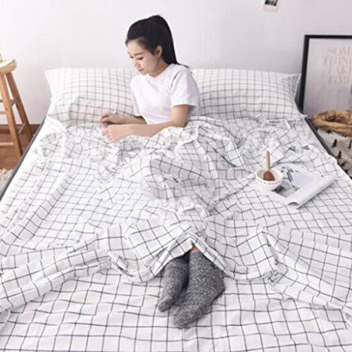 LKKSP Reiseschlafsack, Hygienebetten für Hotels, Baumwolle für Erwachsene (Farbe   B, größe   80  210cm)