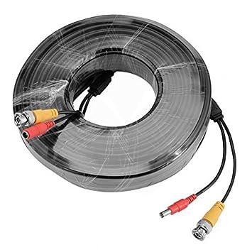 Uptell - Cable alargador BNC para cámara de seguridad y vídeo, para sistema de vigilancia CCTV DVR: Amazon.es: Electrónica