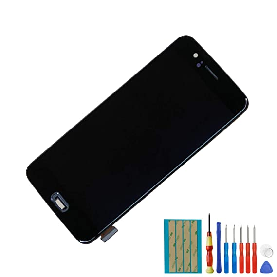 for OnePlus 5 A5000 Replacement Amoled Touch Screen Display Assembly Black  with Frame + Tools