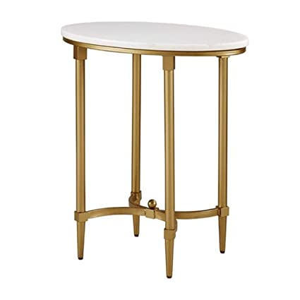 Super Amazon Com Oval Side Table End Table Four Legged Support Dailytribune Chair Design For Home Dailytribuneorg