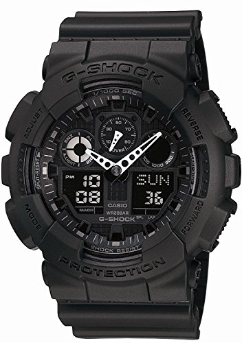 G SHOCK watch overseas GA 100 1A1 reimportation