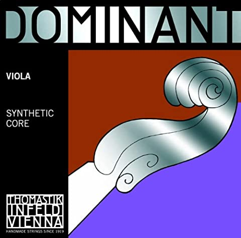 Thomastik-Infeld 141 Dominant Synthetic Core Viola Strings, Medium Gauge, 4/4 Scale, Set of 4 (Dominant Viola A String)