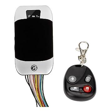 Ocamo Rastreador de GPS con Control Remoto: admite recordatorios de SIM de Cuatro Frecuencias para
