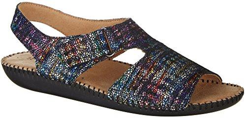 Naturalizer Womens Scout II Sandals 7.5 Blue Multi