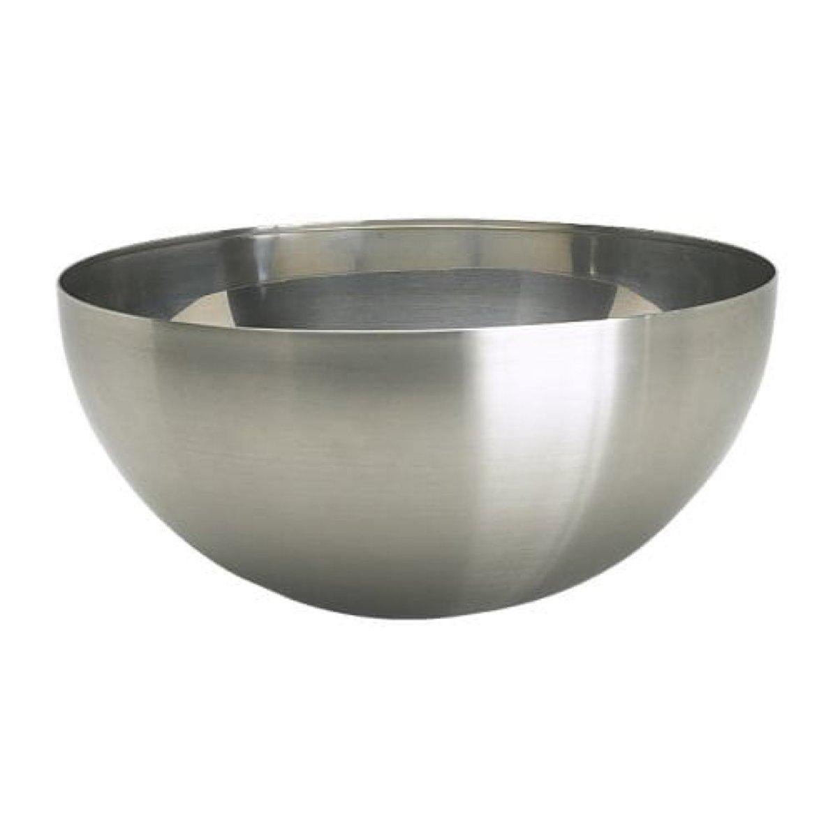 """IKEA Blanda Blank Serving Bowl Stainless Steel Size 11"""" 500.572.54"""