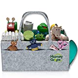 Homey Grips - Baby Diaper Caddy - Infant Portable