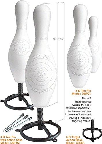 Do-All Outdoors 3-D Ten Pin Full Size Bowling Pin Target