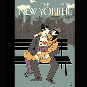 The New Yorker, April 1st 2013 (Marc Fisher, David Sedaris, Jeffrey Toobin) Periodical