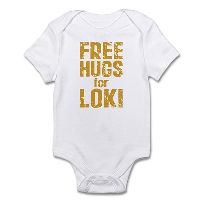 Amazon.com: CafePress Free Hugs para Loki bebé – Body Bebé ...