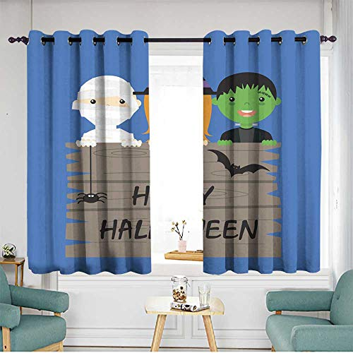 home1love Home Curtains Energy Efficient, Room Darkening W 63