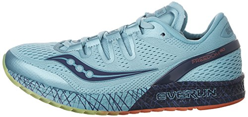 Zapatillas de running SAUCONY FREEDOM ISO blue/coral