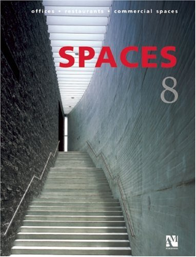 Spaces 8: Offices, Restaurants, Commercial Spaces (v. 8) (English and Spanish Edition) ebook