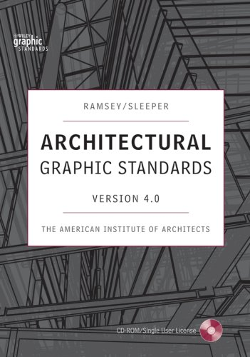 Architectural Graphic Standards 4.0 CD-ROM