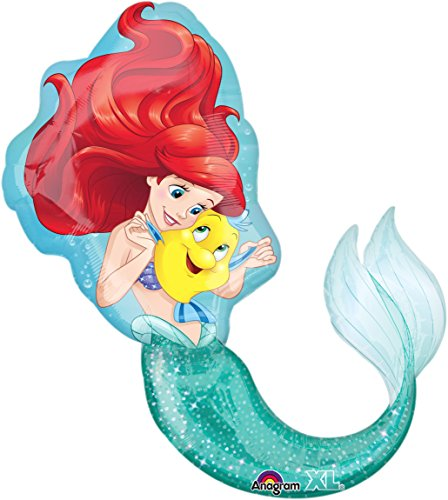 (Little Mermaid Ariel Super Shape Mylar Foil)