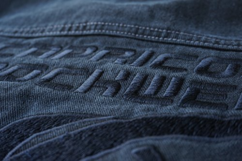 "Jeans Jacke schwarz Modell ""All the Aces"" (M, Vintage schwarz)"