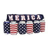 Merica Flag Beer Belt