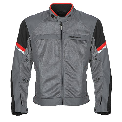 Fieldsheer Men's Moto Morph Jacket (Gunmetal/Black, Medium)