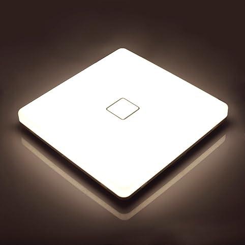Lamker Led Deckenleuchte 24W Deckenlampe IP44 Wasserfest ...