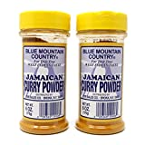 Blue Mountain Country Jamaican Curry Powder 6 Oz (Pack of 2)
